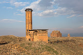 The medieval mosque of Manuchihr at Ani ruins kars turkey