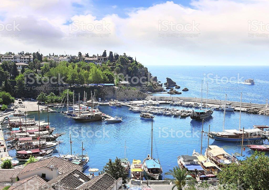 The Mediterranean gulf . stock photo
