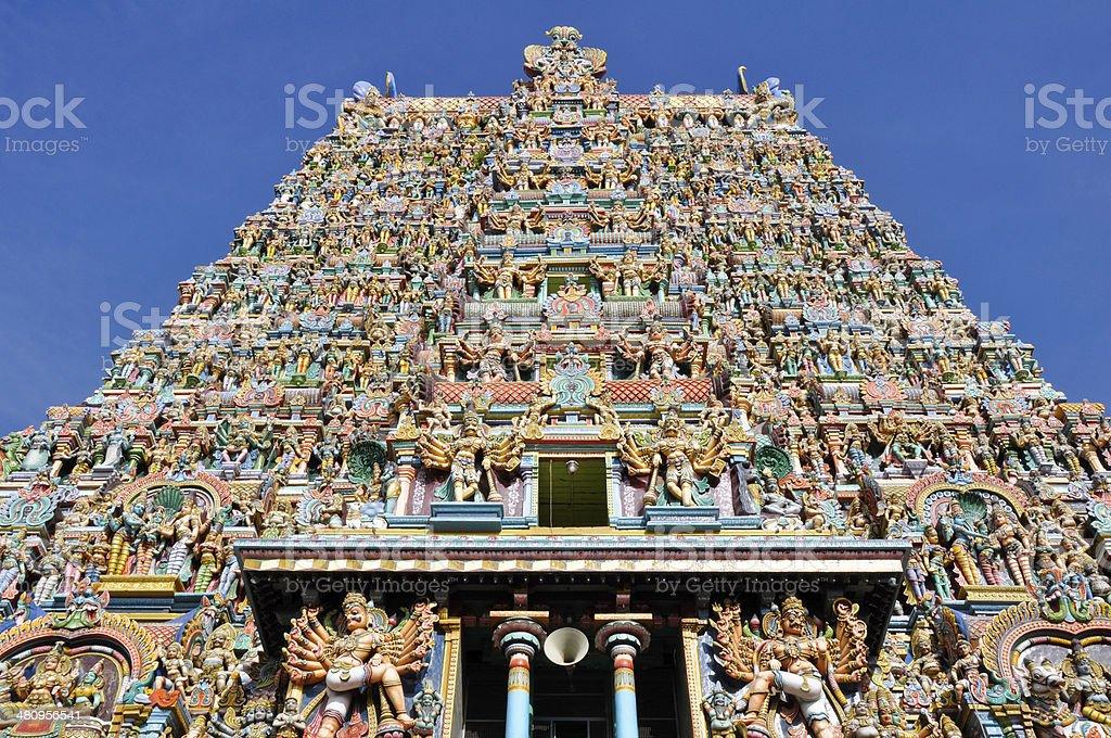 The Meenakshi Temple, Madurai (India) stock photo