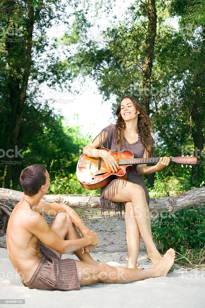 The Melody of Summer royalty-free stock photo