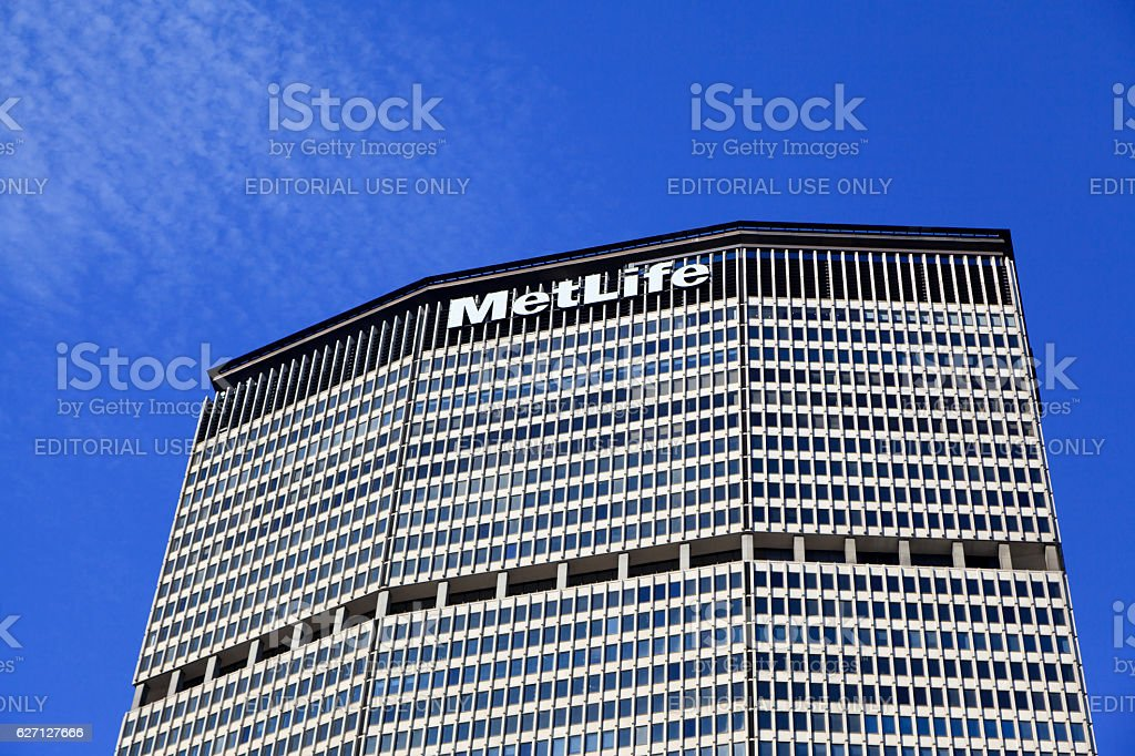 The MetLife Building stock photo
