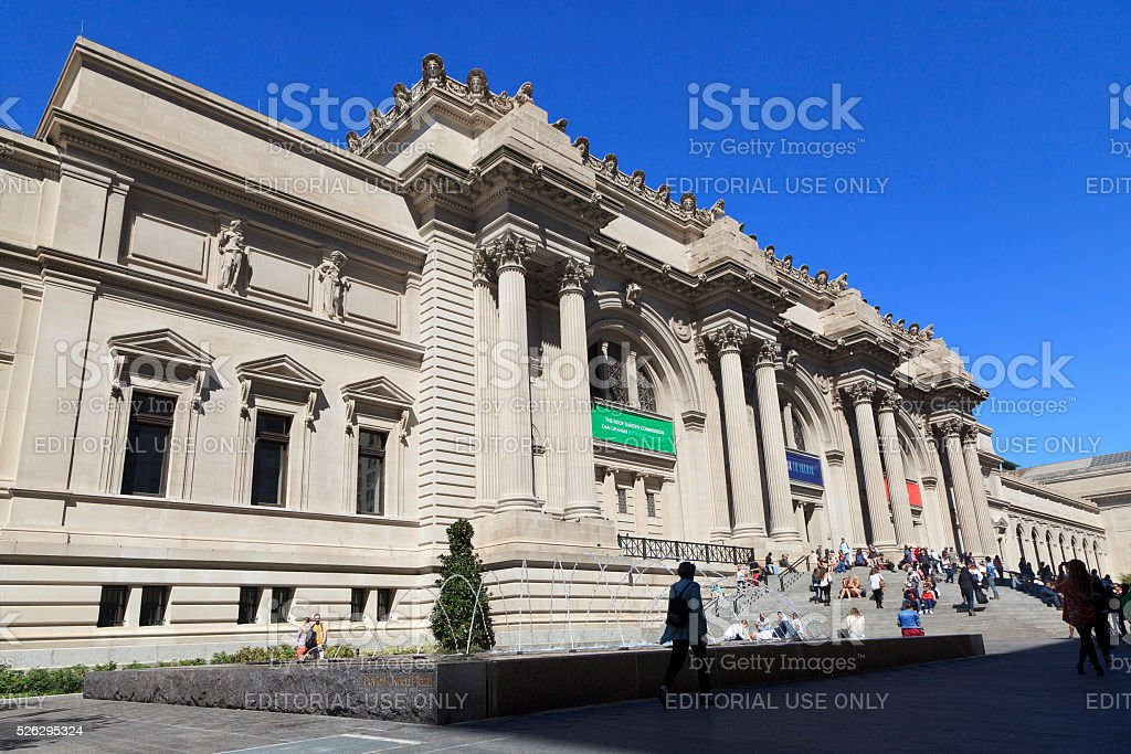 The Metropolitan Museum stock photo