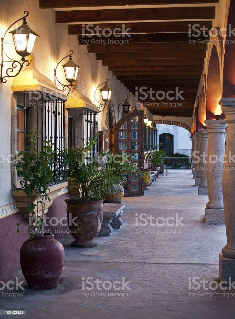 The Mexican Hacienda stock photo