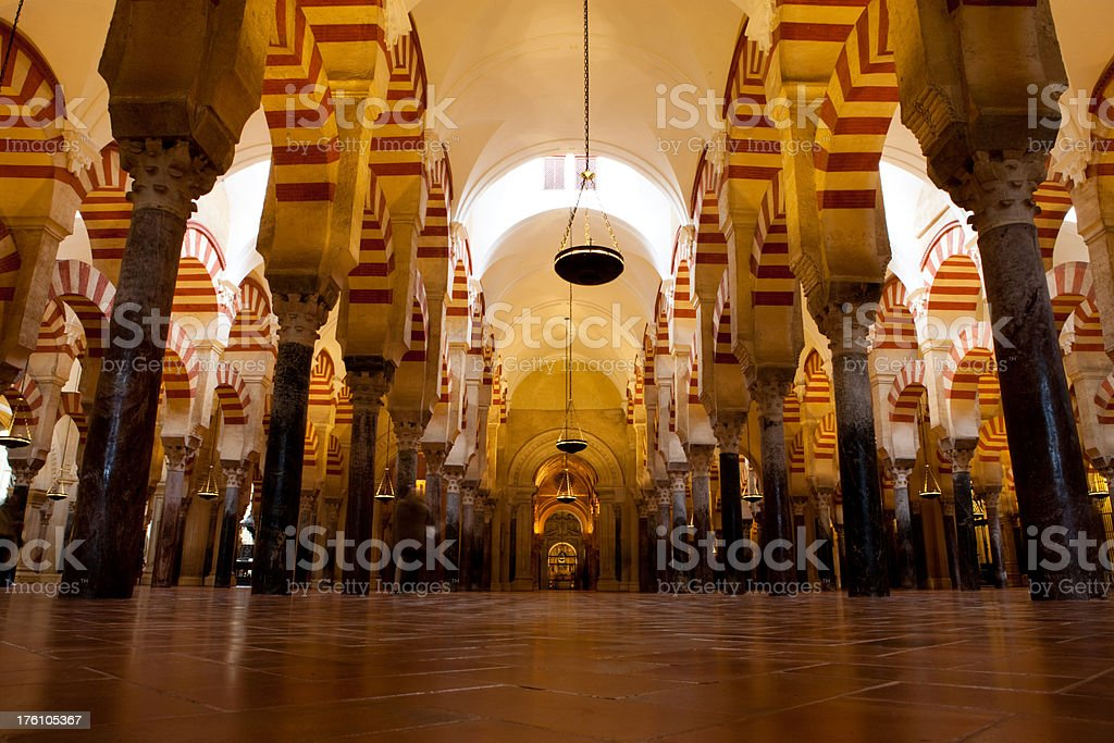 The Mezquita, Cordoba - Spain royalty-free stock photo