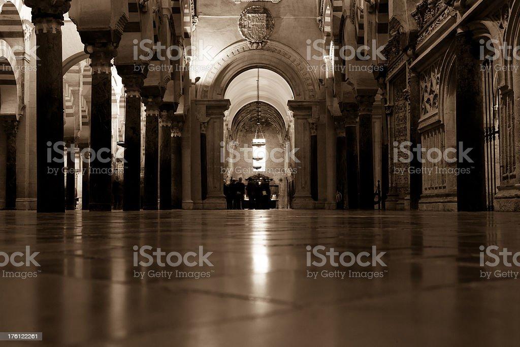 The Mezquita, Cordoba - Spain royalty-free stock photo