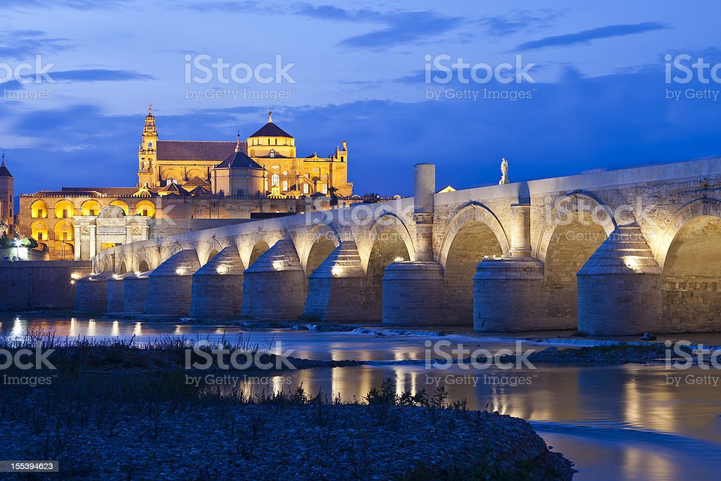 The Mezquita From Cordoba, Spain royalty-free stock photo