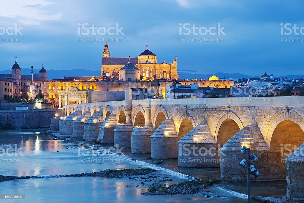 The Mezquita From Cordoba, Spain stock photo