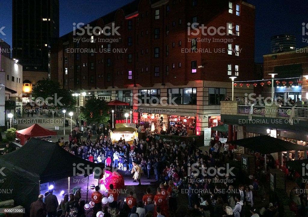 The Mid-Autumn Festival 2016 in Birmingham, UK stock photo