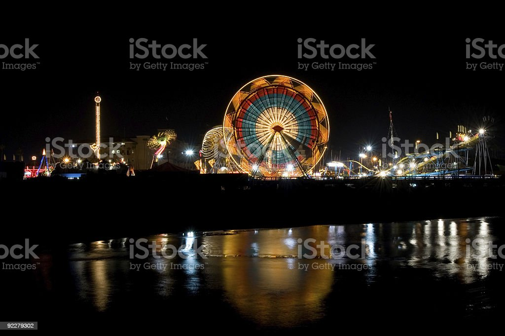 The Midway in Del Mar royalty-free stock photo
