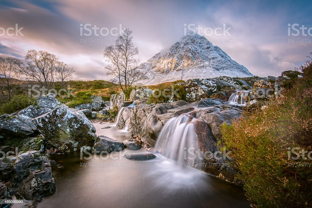 The mighty Buachaille stock photo