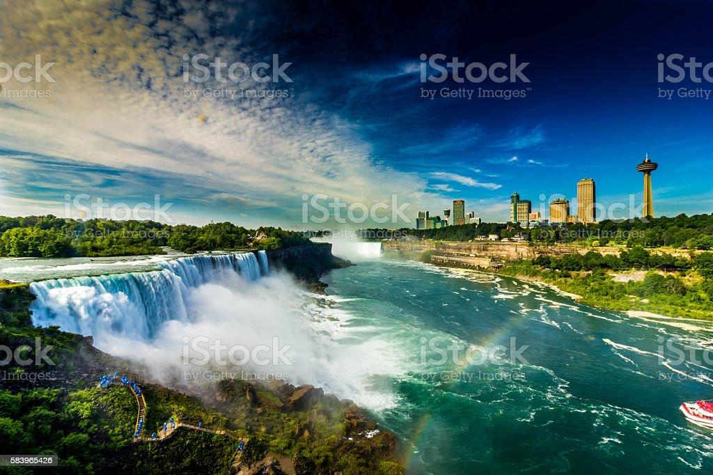 The Mighty Niagara Falls stock photo