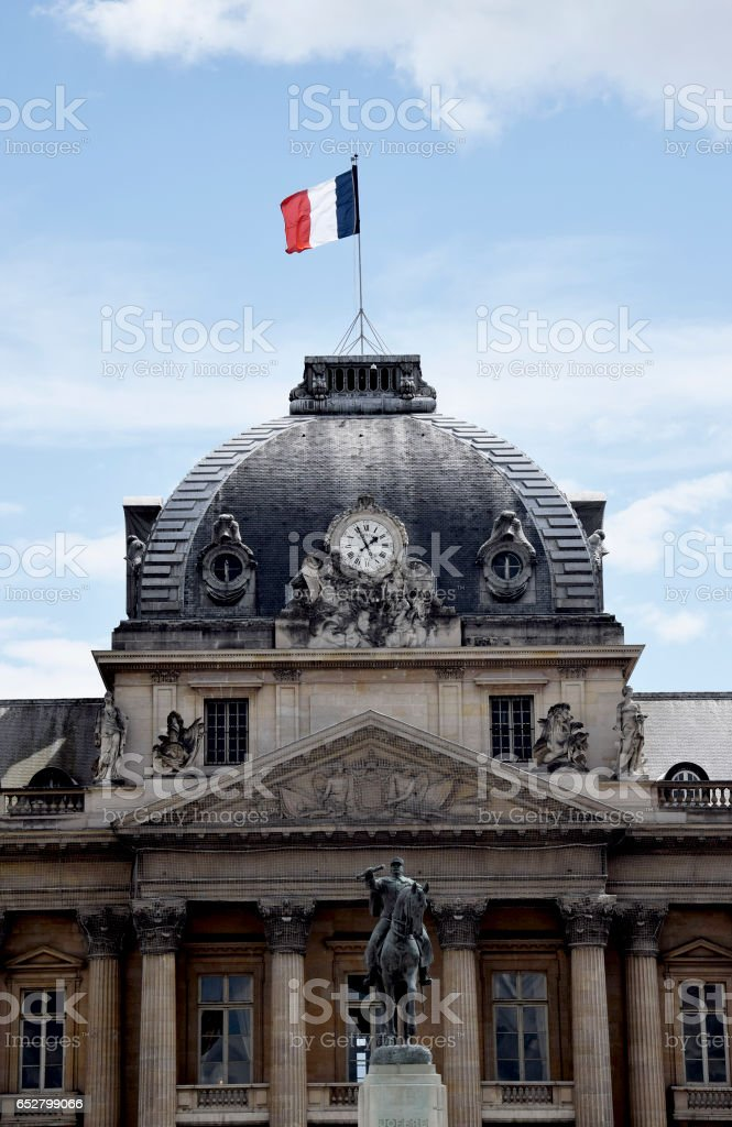 The École Militaire stock photo