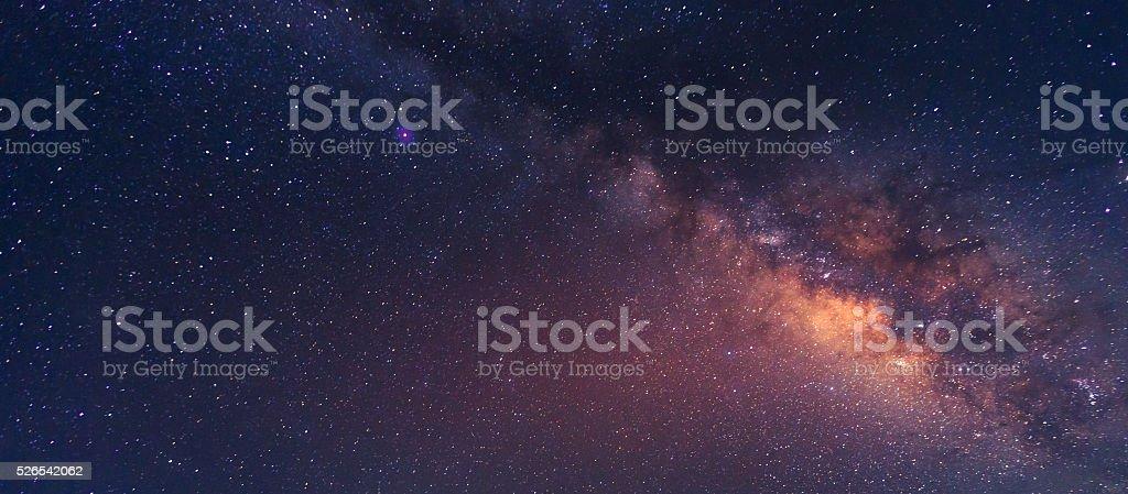 The Milky Way Galaxy stock photo