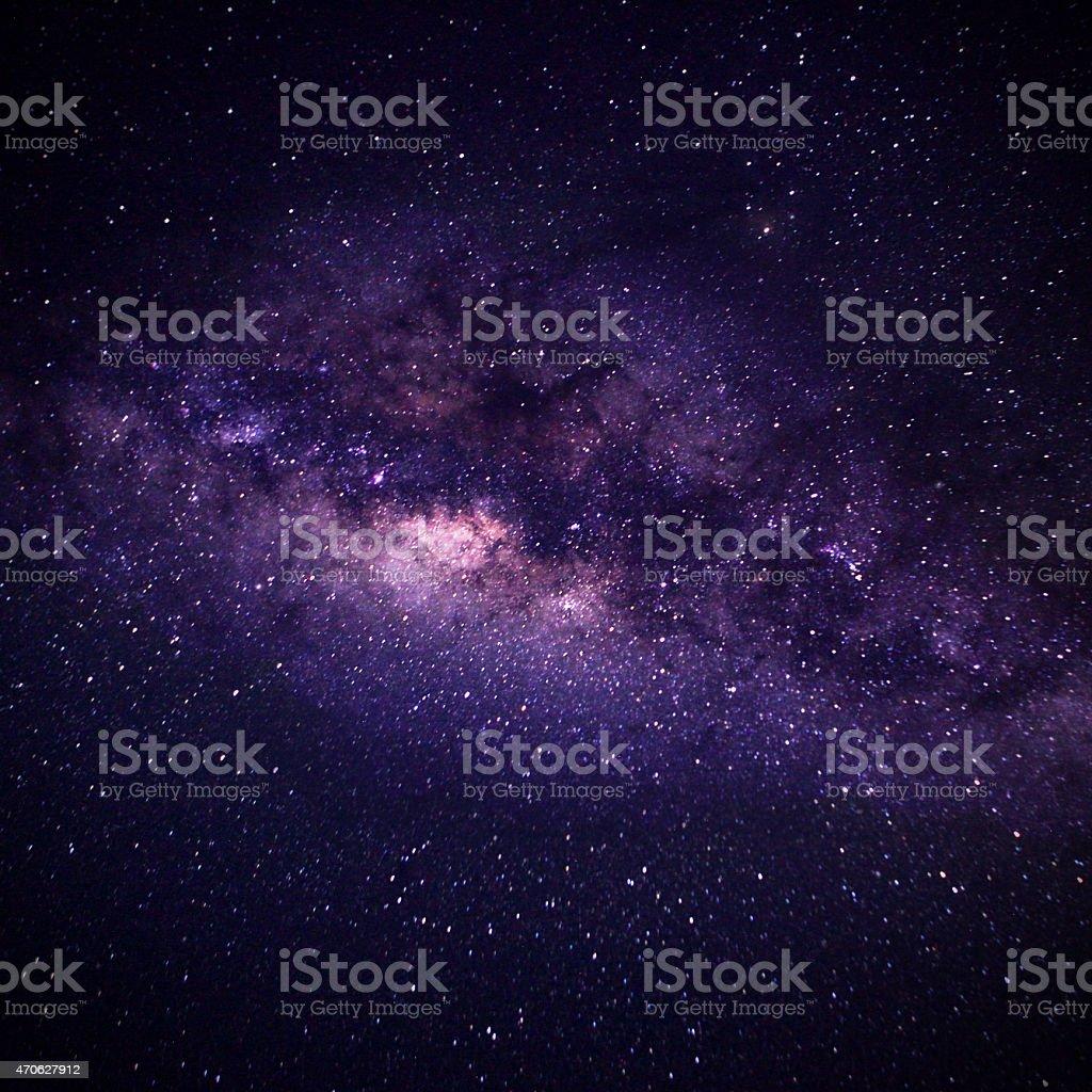 The Milky Way stock photo