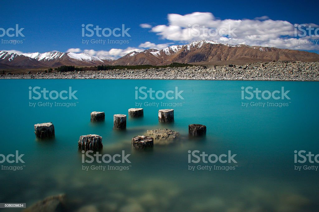 The Milky-Turquoise of Tekapo stock photo