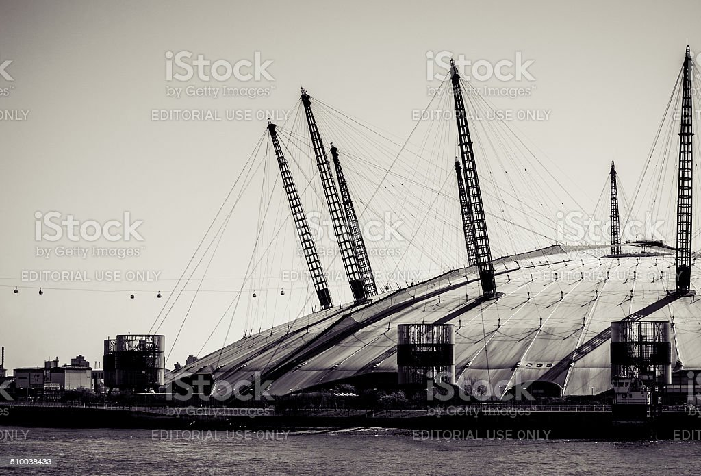 The Millennium Dome stock photo