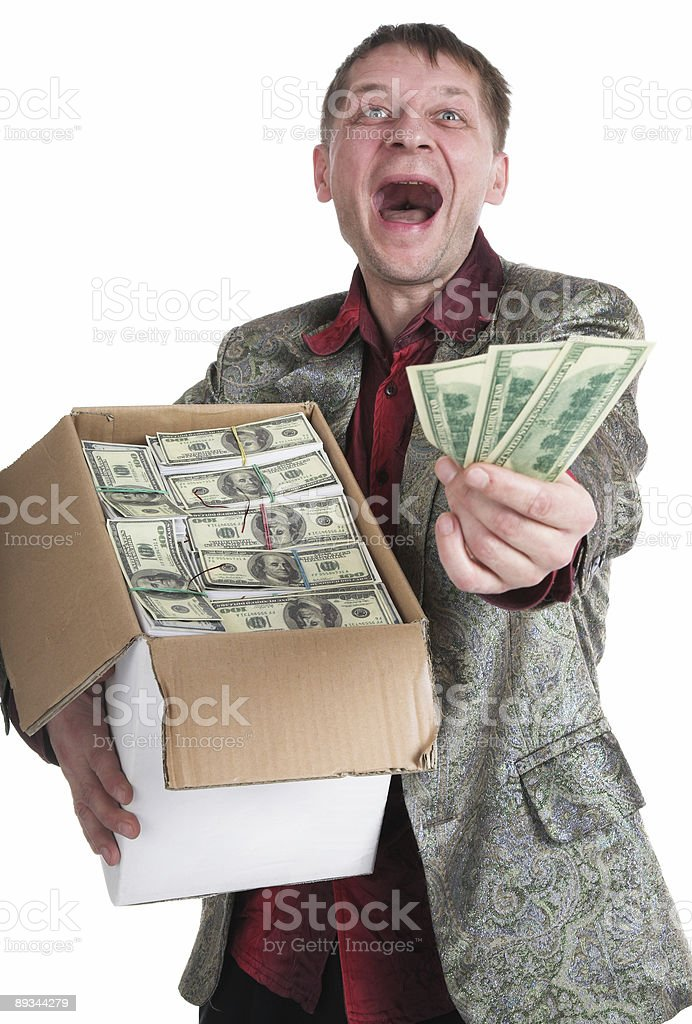 The millionaire royalty-free stock photo