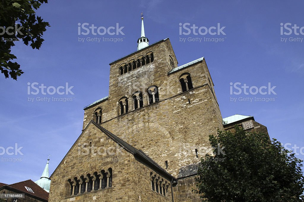The Minden Cathedral stock photo