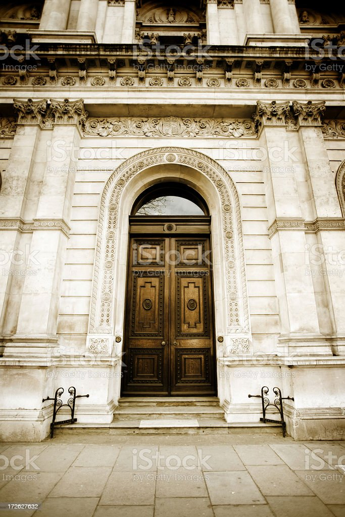 The Ministry, London royalty-free stock photo