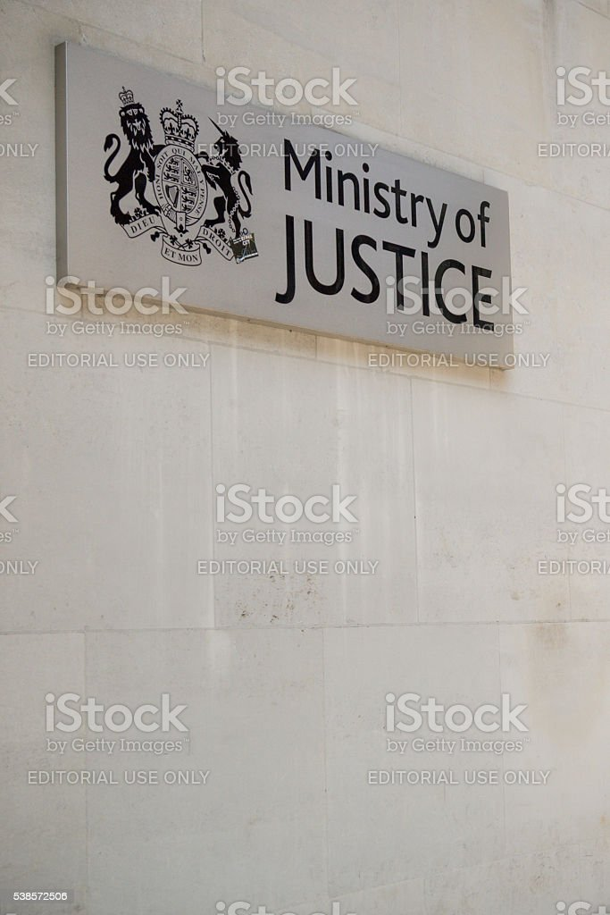 The Ministry of Justice, London, United Kingdom stock photo