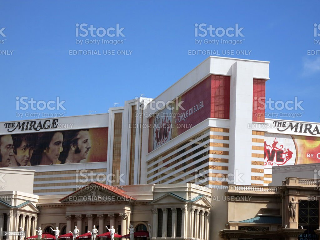 The Mirage hotel and Casino stock photo