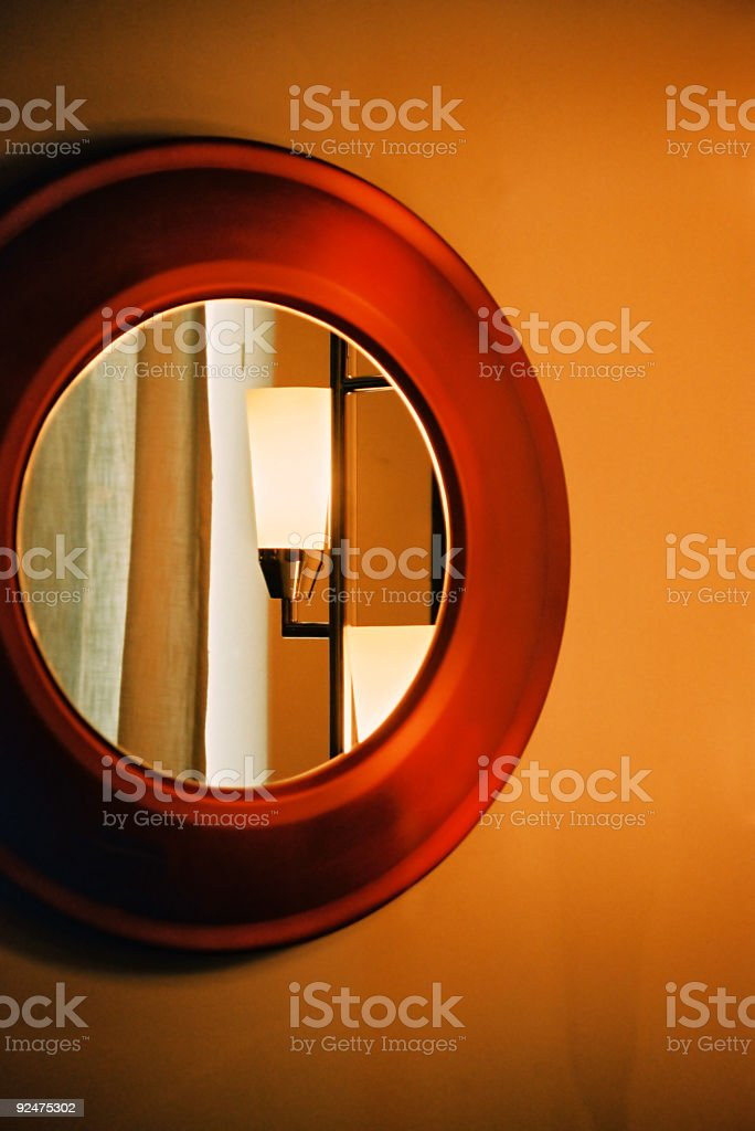 The Mirror royalty-free stock photo