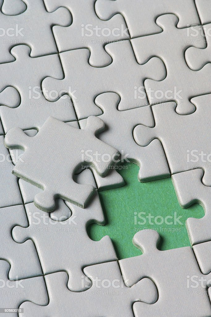The missing link royalty-free stock photo