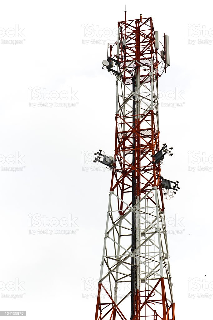 L'Antenna cellulare foto stock royalty-free