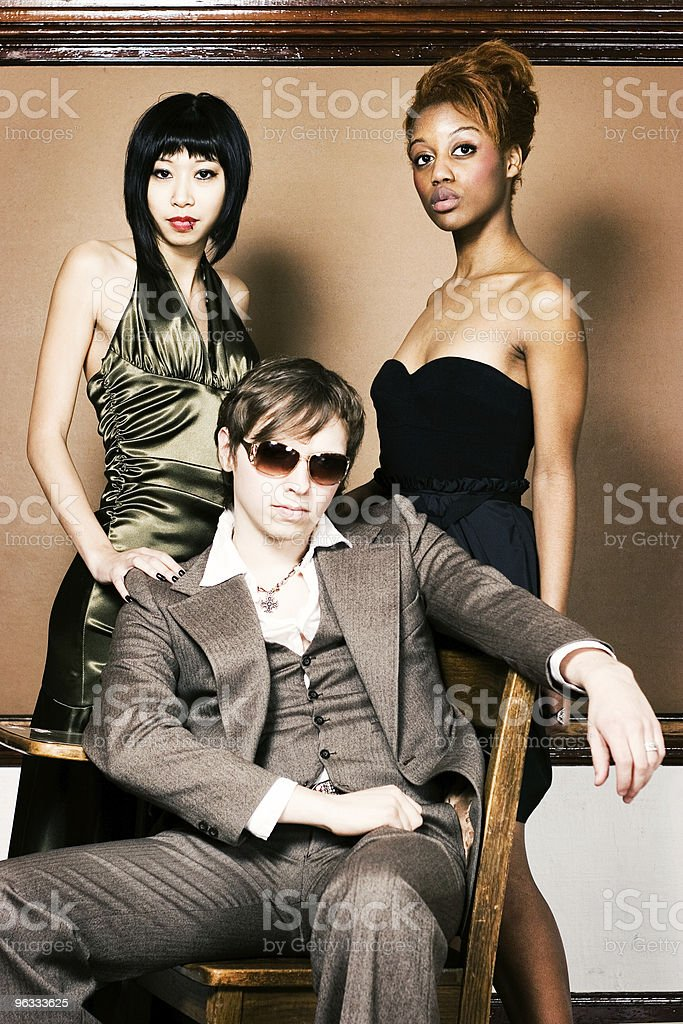 The Mod Squad royalty-free stock photo