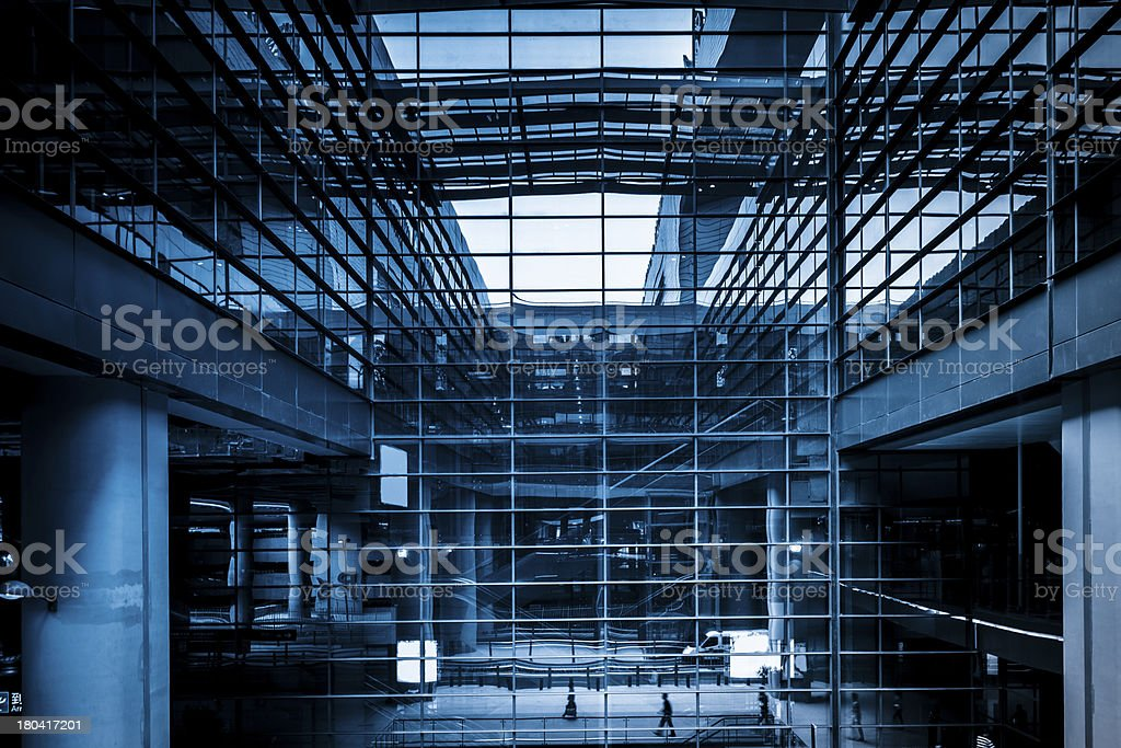 the modern building stock photo