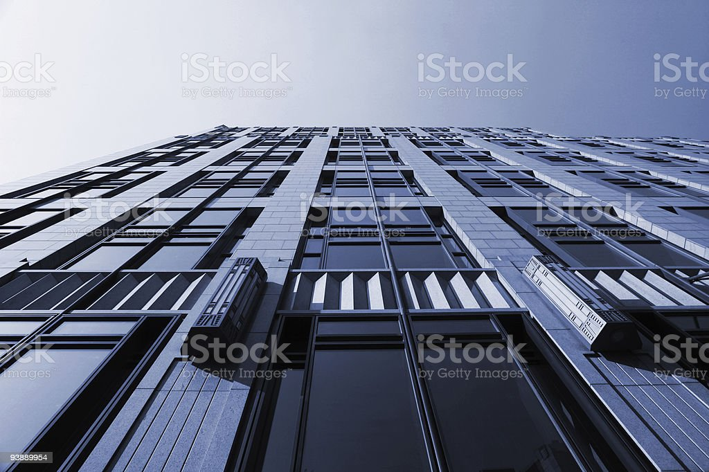 the modern building royalty-free stock photo