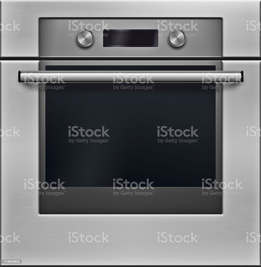 The modern electrical oven stock photo