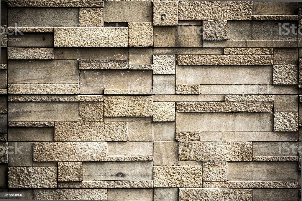 The modern wall stock photo