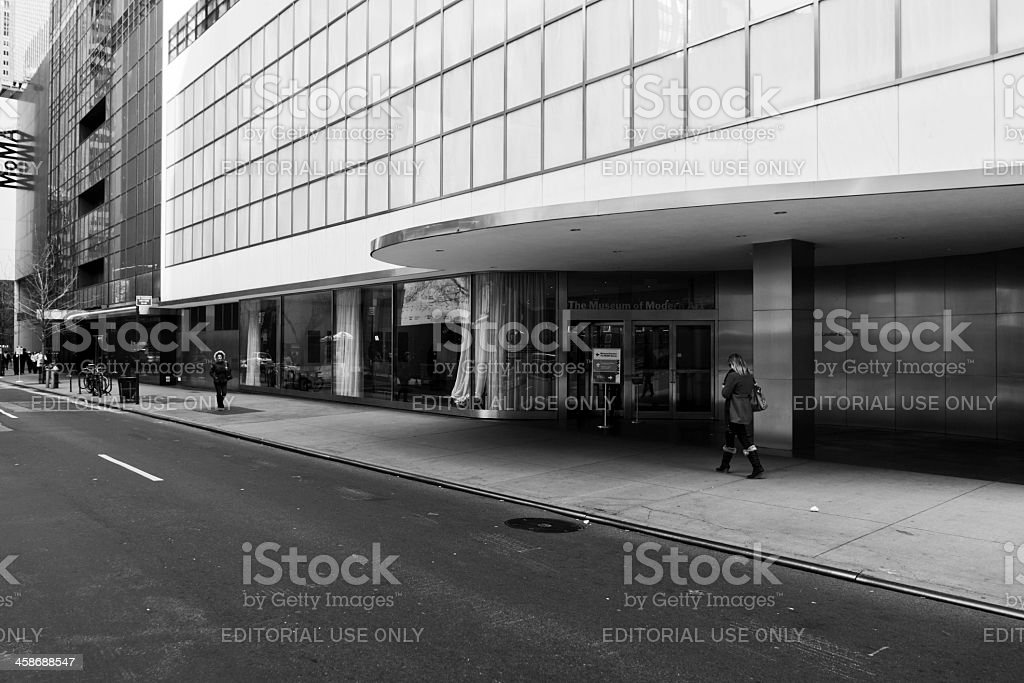 The Moma Museum stock photo