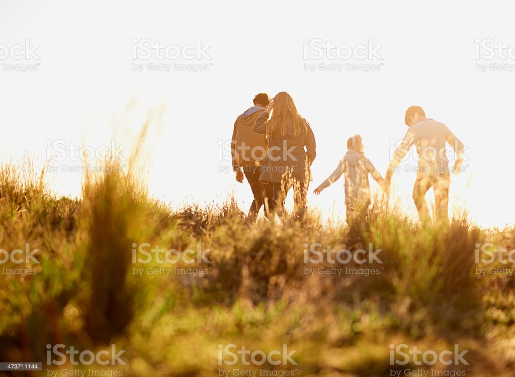 The moments that you wish will last forever stock photo
