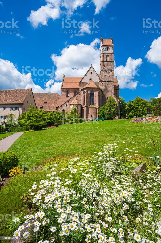 The monastery church in Alpirsbach stock photo
