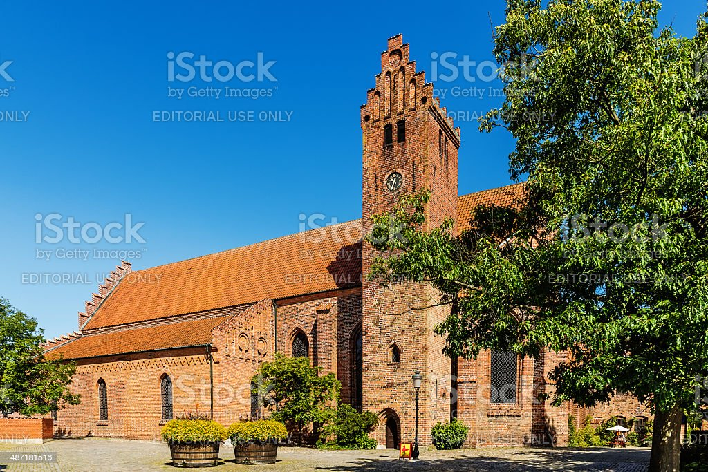 The Monastery Klosteret stock photo
