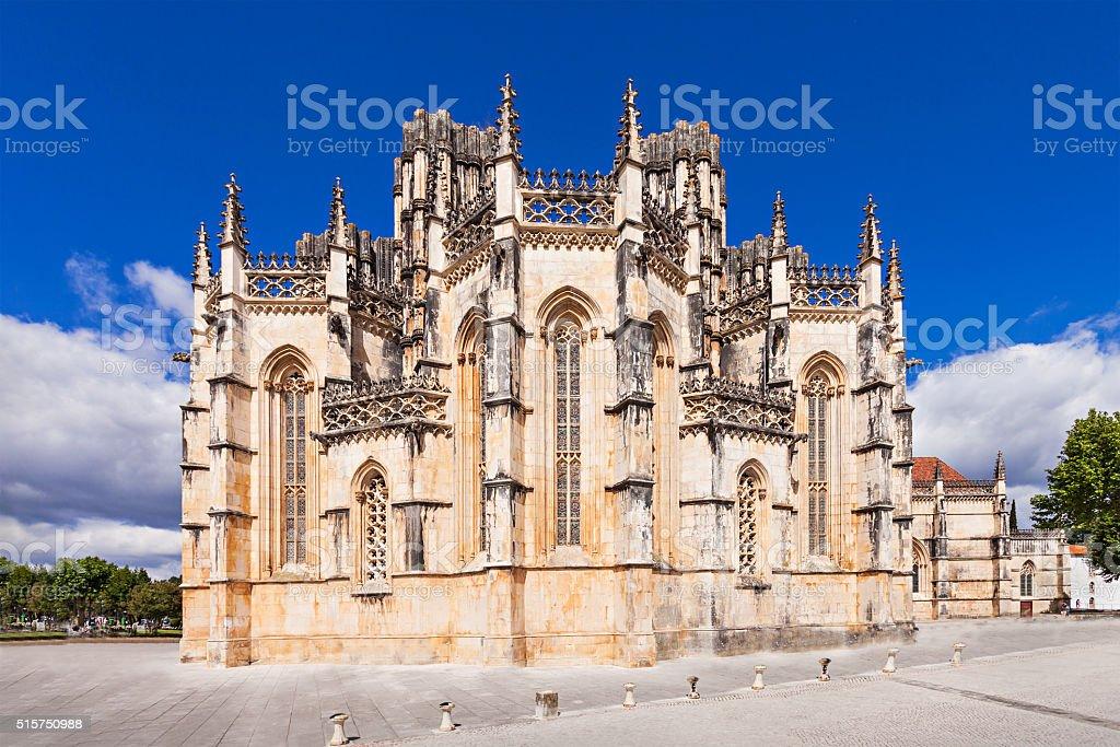 The Monastery of Batalha stock photo