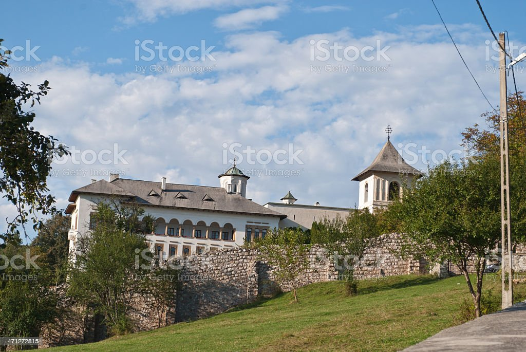The Monastery of Horezu stock photo