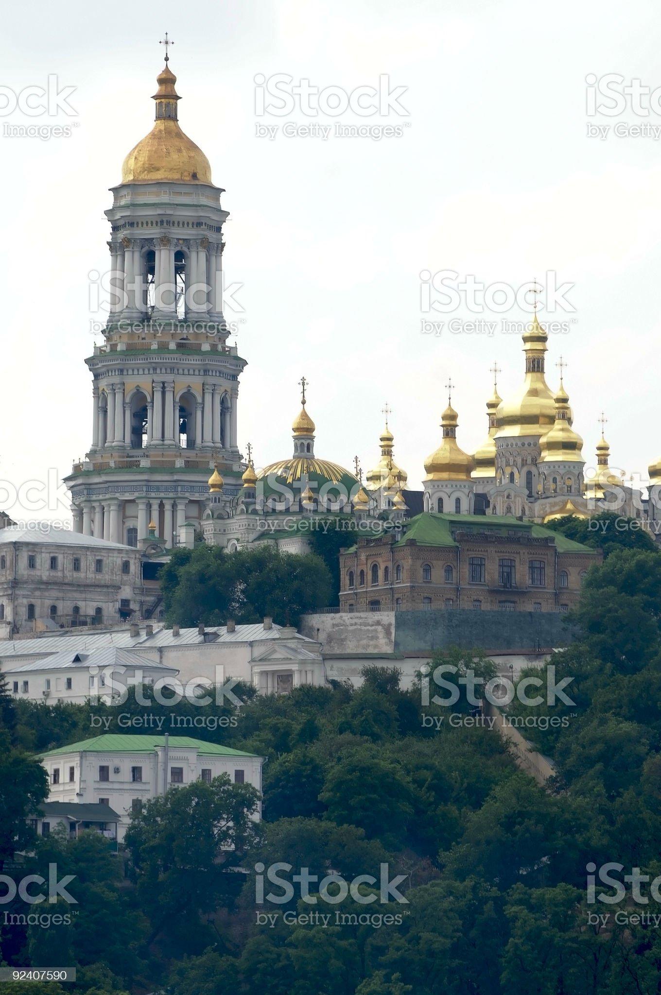 the monastery royalty-free stock photo