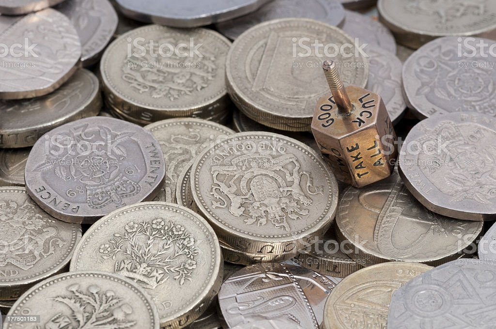The Money Game royalty-free stock photo