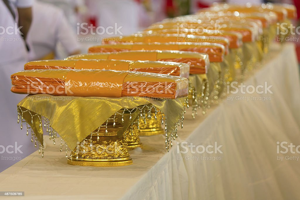 The monk royalty-free stock photo