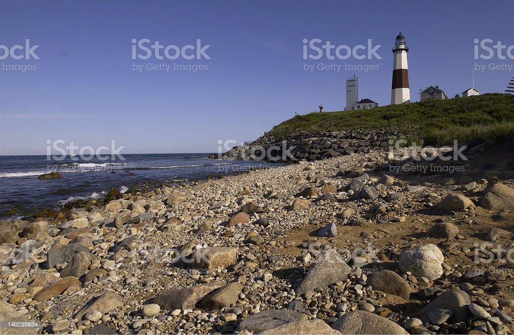 The Montauk Lighthouse stock photo