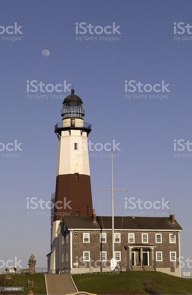 The Montauk Lighthouse royalty-free stock photo