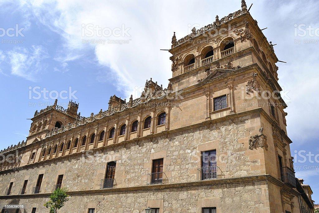 The Monterrey Palace of Salamanca stock photo