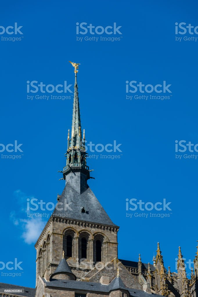 The Mont-Saint-Michel, France stock photo