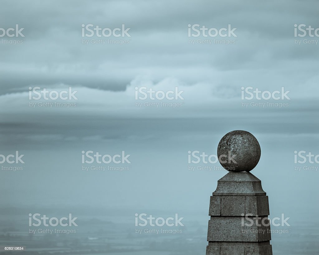 The Monument on Coombe Hill, Buckinghamshire. stock photo