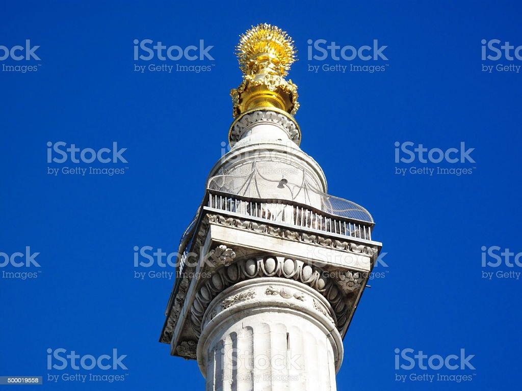 The Monument stock photo
