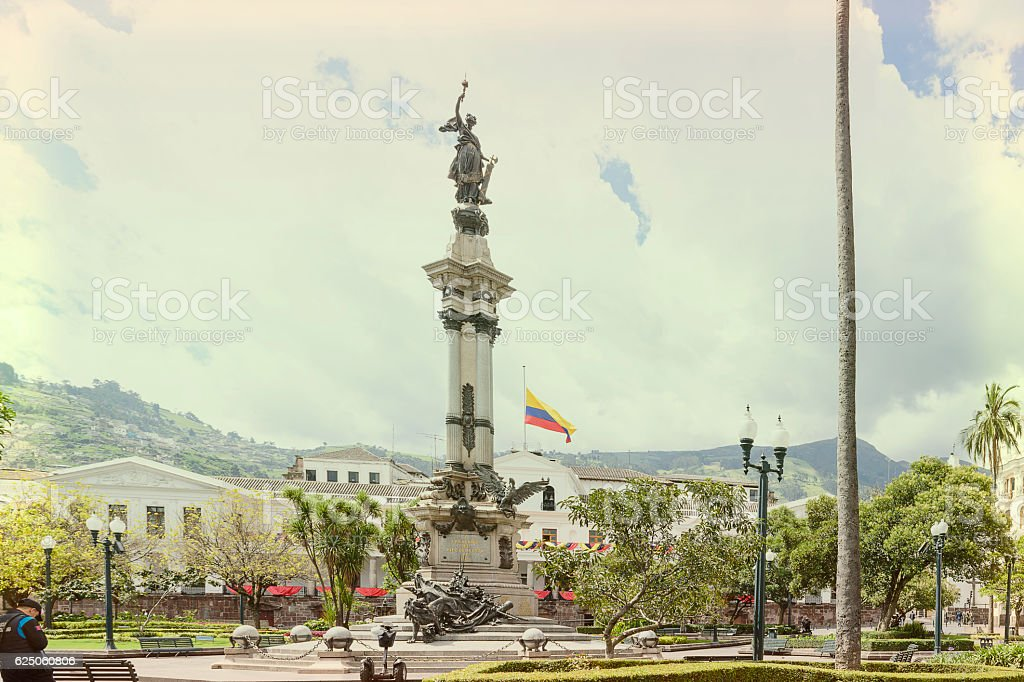 The Monument to Independence stock photo