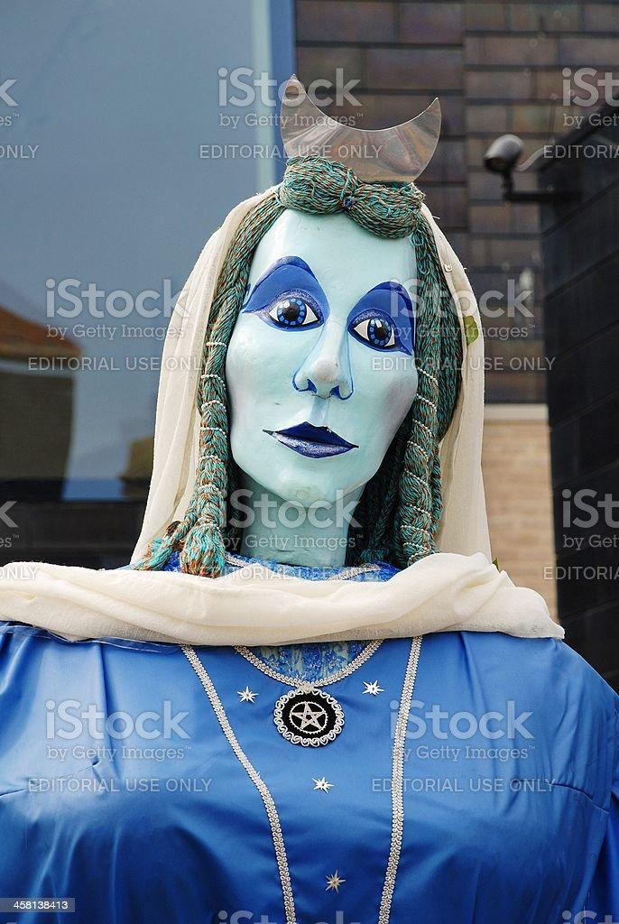 The Moon Goddess stock photo
